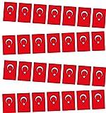 Türkei Fahnenkette ca. 5m teilbar Fahne Party Dekoration Papier Bayrak