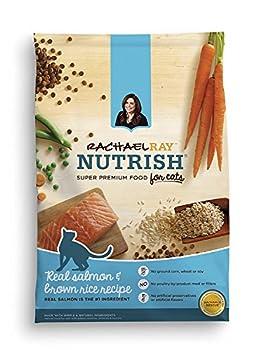 Rachael Ray Nutrish Natural Dry Cat Food Salmon & Brown Rice Recipe 3 lbs  Pack of 2