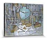 1art1 Piet Mondrian - Naturaleza Muerta con Jarro De Jengibre, 1912 Cuadro, Lienzo Montado sobre Bastidor (40 x 30cm)