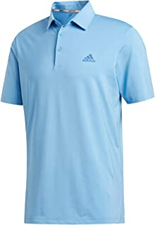 adidas Golf 2019 Mens Ultimate 2.0 Solid Short Sleeve Golf Polo Shirt