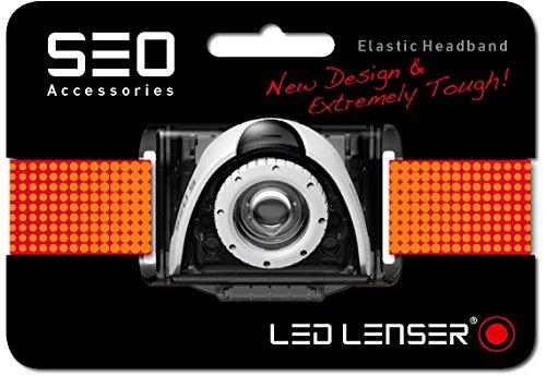 LED Lenser 0376 Bandeau Lampe Frontale Ampoules, Rouge