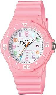 Casio LRW-200H-4B2VCF Reloj análogo para mujer, rosa