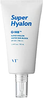 VT COSMETICS SUPERHYALON WATER SUNBLOCK 50ml SPF50+ / PA++++ | summer sunblock | mositure type sunscreen | sun fluid | liq...