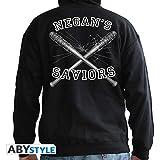 ABYstyle - The Walking Dead - Sudadera - El Salvador de Negan - Hombres - Negro (M)
