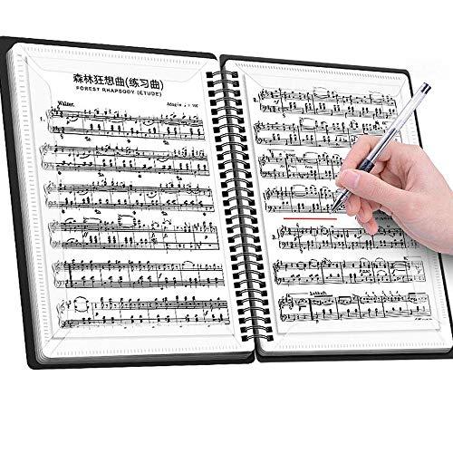 楽譜ファイル バンドファイル 楽譜入れ 書込みOK 反射しない 吹奏楽 オーケストラ 合唱 演奏会 コンクール ...