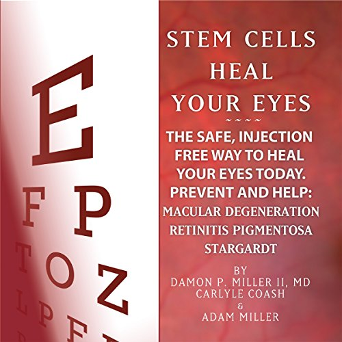 Stem Cells Heal Your Eyes audiobook cover art