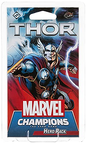 Marvel Champions The Card Game Thor HERO PACK | Strategy Card Game for Adults and Teens | Ages 14+ |...