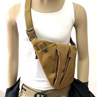 Jipemtra Tactical Sling Bag Pack EDC Military Chest Pack Messenger Bag MOLLE Crossbody Shoulder Backpack Daypack Side Utility Bag for Camping Hiking Trekking Cycling