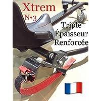2 Xtrem BUCLE CUADRADO Hoverkart Correa de Repuesto Hover Kart Hover cart Kart Hoverkart Cart Correas llevar bolso Go Kart asiento