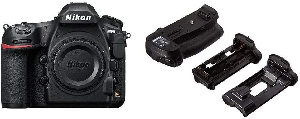 Nikon D850 FX-Format Max 69% OFF Digital SLR MB-D18 Camera Battery Milwaukee Mall Body and