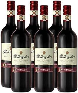 Rotkäppchen Qualitätswein Dornfelder halbtrocken 6 x 0.75 l