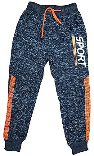Generic Kinder Jungen Warme Hose Jogginghose Sporthose Freizeithose (Orange, 98)