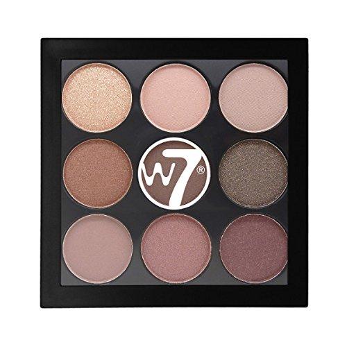 W7The Naughty nueve Mid verano noches de ojos paleta de colores, 4,5g