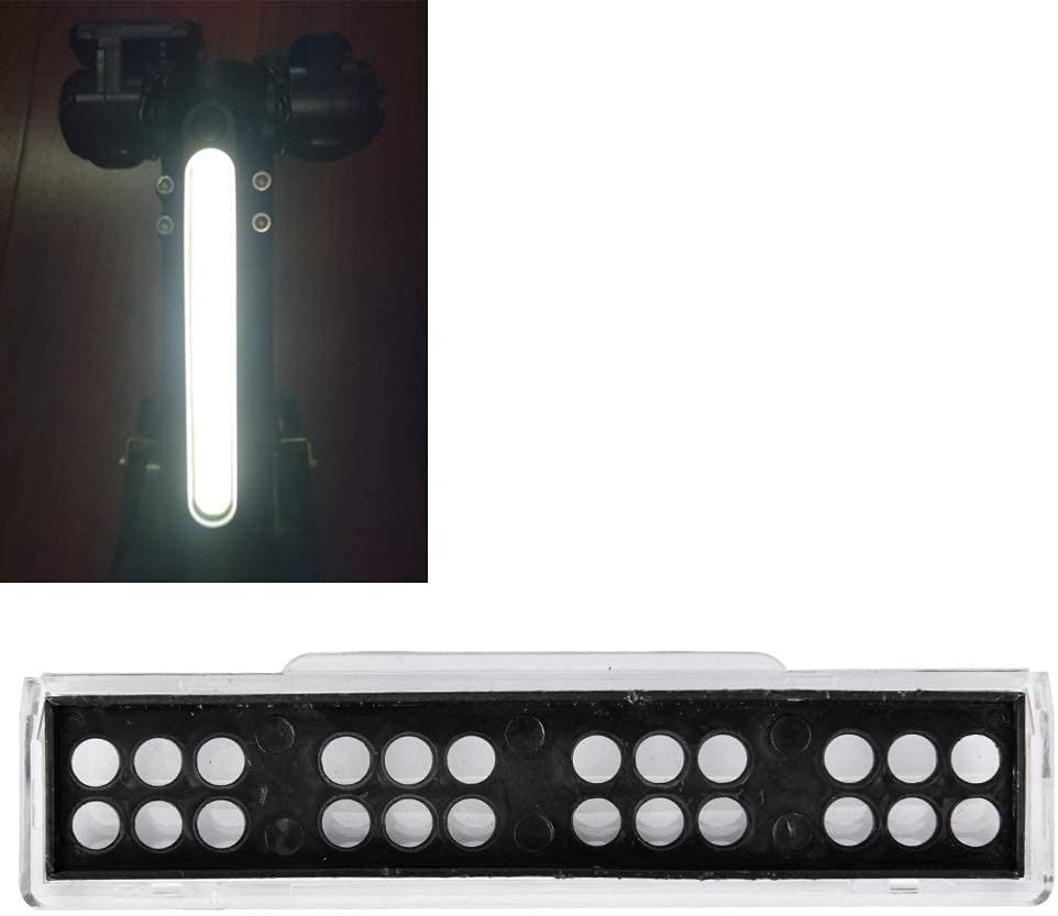 Xinwoer Carcasa de Carcasa de Faro LED, Cubierta Protectora de Pantalla LCD para Scooter eléctrico KUGOO de 8 Pulgadas, 10x2.5x2cm