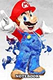 Notebook: Super Mario , Journal for Writing, College Ruled Size 6' x 9', 110 Pages