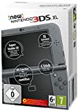 Nintendo New 3DS XL - videoconsolas portátiles (640 x 480 Pixeles, New Nintendo 3DS XL, Negro, Metálico, LCD, Analogue / Digital, 800 x 240 Pixeles)