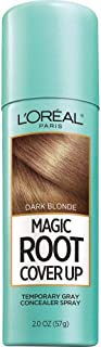 L'Oreal Paris Magic Root Cover Up Gray Concealer Spray Dark Blonde 2 oz.(Packaging May Vary)