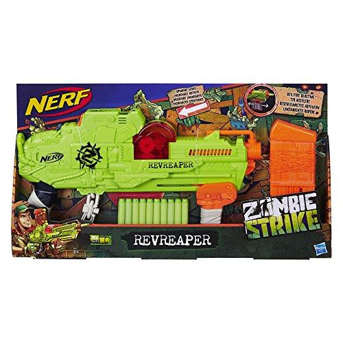 Zombie Strike Revreaper, Spielzeugblaster mit sichtbarem Zahnrad-Mechanismus