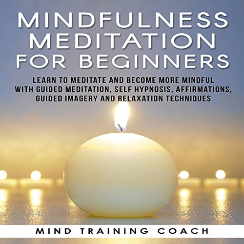 Mindfulness Meditation for Beginners: Learn to Meditate and Become More Mindful with Guided Meditation, Self Hypnosis, Affirmations, Guided Imagery and Relaxation Techniques cover art