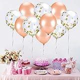 Zoom IMG-1 zoneyan palloncini oro rosa festa