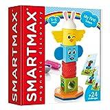 smart games My First Totem, Bloques Construccion Bebe, Juegos de Mesa Bebes, Juguetes Niñas Niño, Multicolor (Lúdilo SMX230)