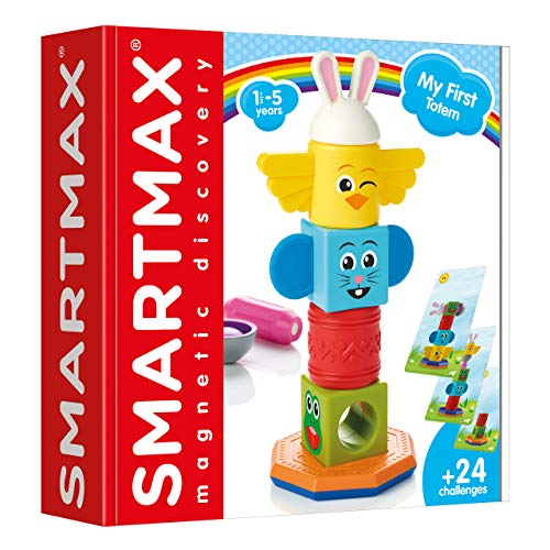 smart games- My First Totem, Multicolor (Lúdilo SMX230)