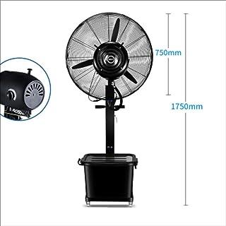 Aire acondicionado móvil XIAOYAN Ventilador de Agua Comercial Ventilador de pulverización Industrial Ventilador de humidificación de Agua Ventilador de Niebla (Tamaño : Ordinary Section -75cm-350w)