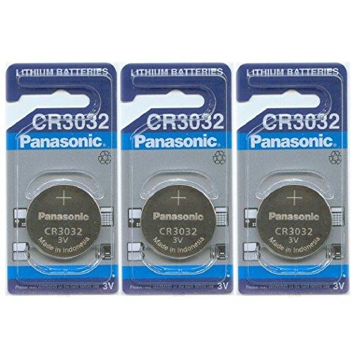 PANASONIC Batterie, Lithium Knopfzelle Cr 3032 CR3032- (3 Stück) Für PANASONIC