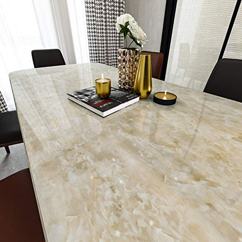 LIKILIKI Marble Contact Paper for Cabinets Countertops Wardrobe Kitchen Bedroom...