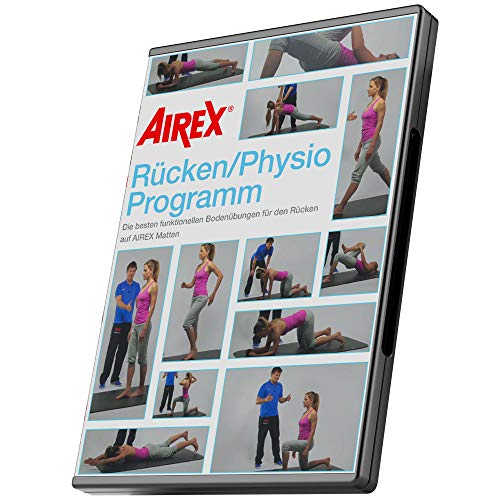 Airex DVD Mattenprogramm - Rücken/Physio Programm, deutsch, 16:9, ca. 37 Minuten