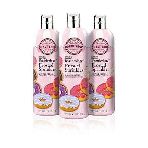 Baylis & Harding Beauticology Duschcreme, Milchglas-Sprinkles, 500 ml, 3 Stück