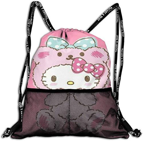 Not applicable Lazo Moda Linda Bolsa Hello Kitty Mochila