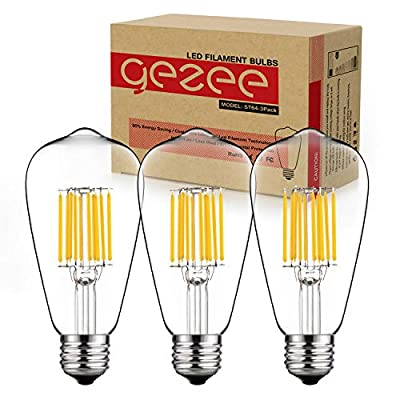 GEZEE ST64 10W Dimmable Bulb