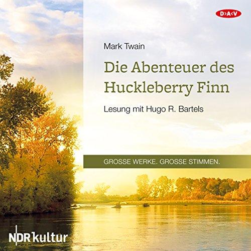 Couverture de Die Abenteuer des Huckleberry Finn