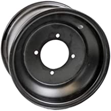 black go kart rims