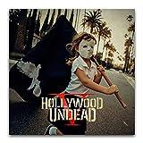 WPQL Hollywood Undead (fünf) Schlafzimmer Modern Art