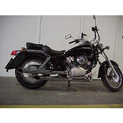 Auspuff Silvertail Komplettanlage Chrom VT 125 C Shadow JC31 01-08
