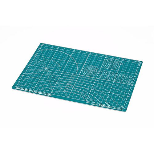 Tamiya 300074118 Cutting Mat DIN A4 Green