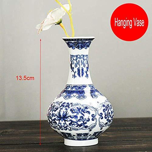 Vase Vintage Home Decor Keramik Blumenvasen Für Häuser Antike Traditionelle Blaue Und Weiße Porzellanvase Für Blumen Designd4