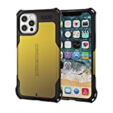 エレコム iPhone 12 / 12 Pro ケース Qi充電対応 ハイブリッド ZEROSHOCK 耐衝撃 スタンダード イエロー PM-A20BZEROYL