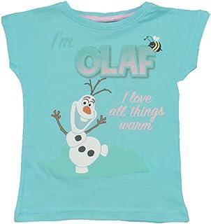 Frozen - Camiseta de Manga Corta - para Niño