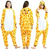 Tier Pyjama Onesies Fasching Halloween Kostüm Schlafanzug Cosplay Pyjama Unisex Erwachsene Damen...