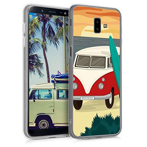 kwmobile Carcasa Compatible con Samsung Galaxy J6+ / J6 Plus DUOS -...