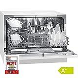 Bomann TSG 708 Table Lave-vaisselle/A + / 174 kWh/an / 6 MGD / 1820 L/an/Commande de...