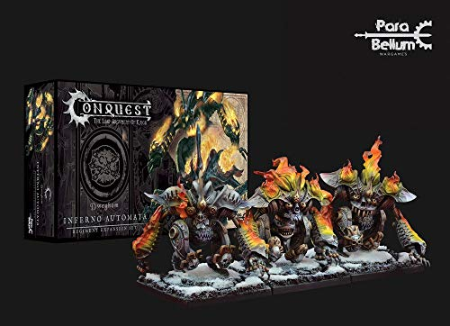 Para Bellum Wargames Conquest: The Last Argument of Kings Miniatures 3-Pack Dweghom: Inferno Automata