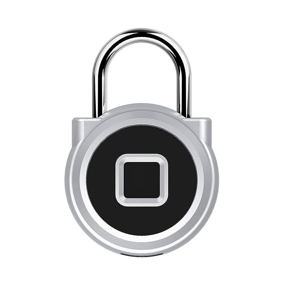 扇動ジャムを除くジム、バックパック、ドア、キャビネット、スーツケース、屋内および屋外のための充電式防水スマート拇印ロックジムのロッカーロックUSB