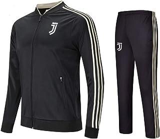 LISIMKE Juventus Club Long Sleeve Jersey Football Suit Team Play Competition Training Sweatshirt Jacket