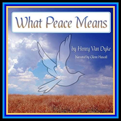 What Peace Means audiobook cover art
