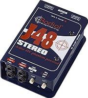 Radial ラジアル ステレオDIボックス J48 Stereo 【国内正規輸入品】