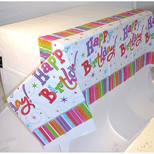 amscan - Partytischdecken in Multi, Größe 137cm x 259cm